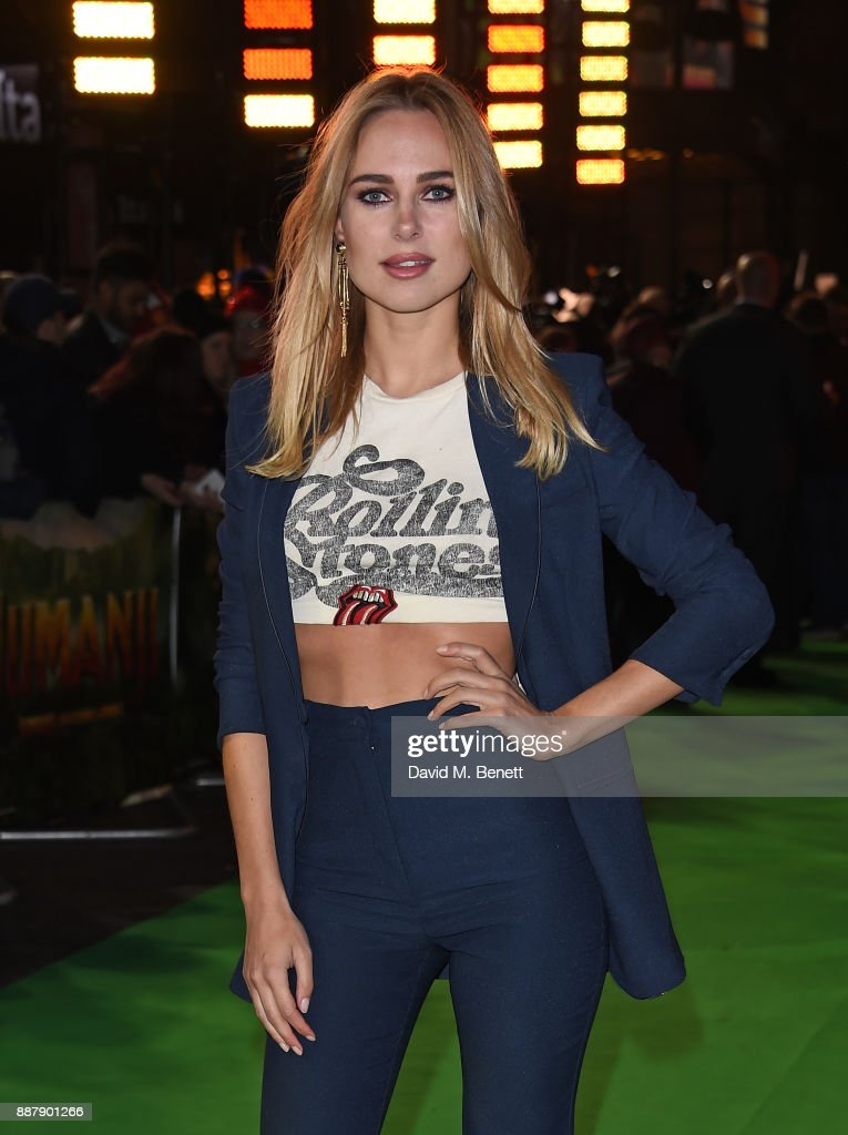 Kimberley Garner attends the UK Premiere of 'Jumanji: Welcome To The Jungle' at Vue West End on December 7, 2017 in London, England.