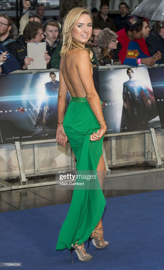 <a gi-track='captionPersonalityLinkClicked' href=/galleries/search?phrase=Kimberley+Garner&family=editorial&specificpeople=9081186 ng-click='$event.stopPropagation()'>Kimberley Garner</a> attends the UK Premiere of 'Man of Steel' at Odeon Leicester Square on June 12, 2013 in London, England.