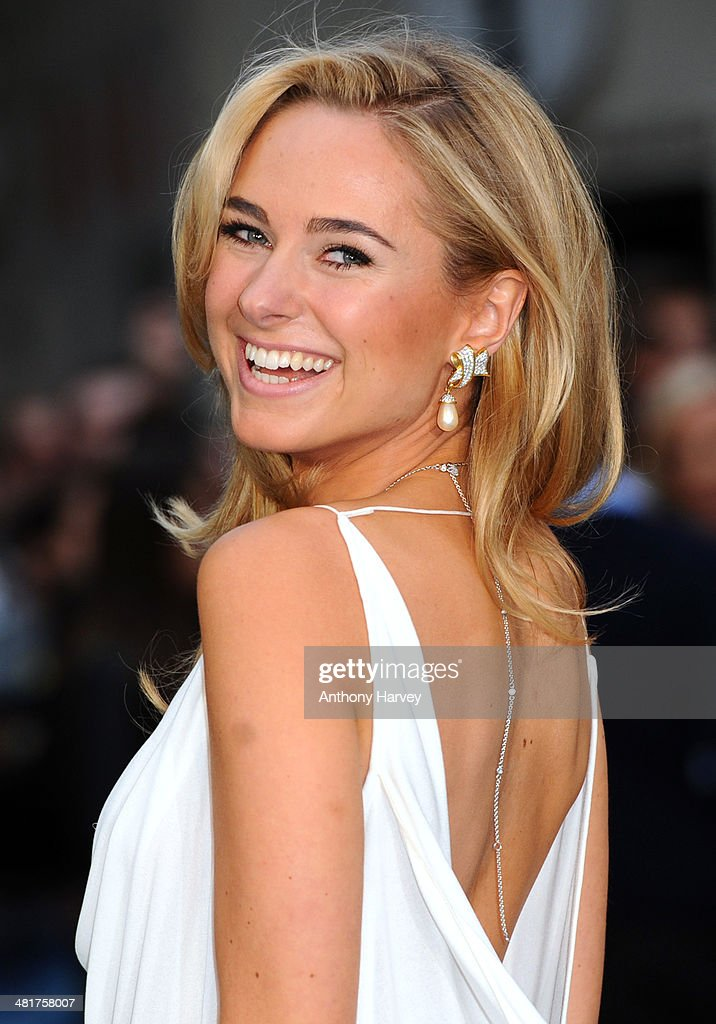 Kimberley Garner attends the UK premiere of 'Noah' at Odeon Leicester Square on March 31, 2014 in London, England.