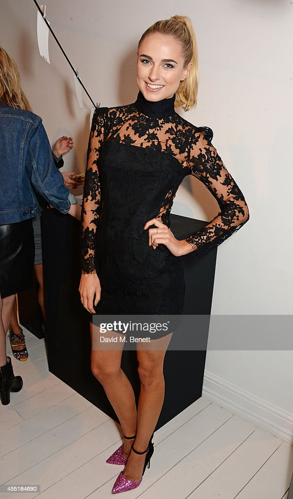 Kimberley Garner attends the Whistles x GQ Style House Party on September 10 2014 in London England