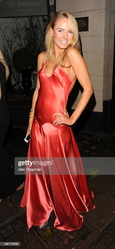 Kimberley Garner sighting at The Dorchester Hotel on November 20, 2012 in London, England.