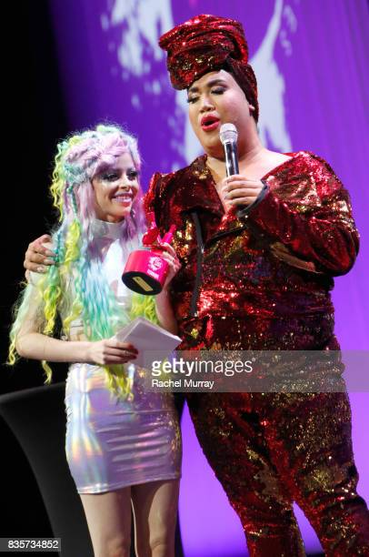 Kimberley Margarita and Patrick Starrr at the 2017 NYX Professional Makeup FACE Awards at The Shrine Auditorium on August 19 2017 in Los Angeles...