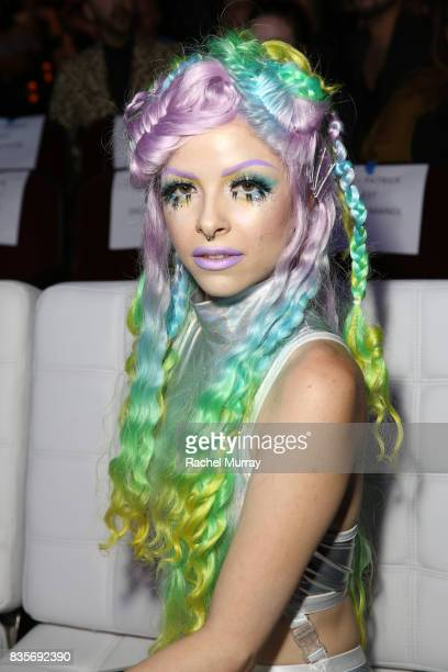 Kimberley Margarita at the 2017 NYX Professional Makeup FACE Awards at The Shrine Auditorium on August 19 2017 in Los Angeles California
