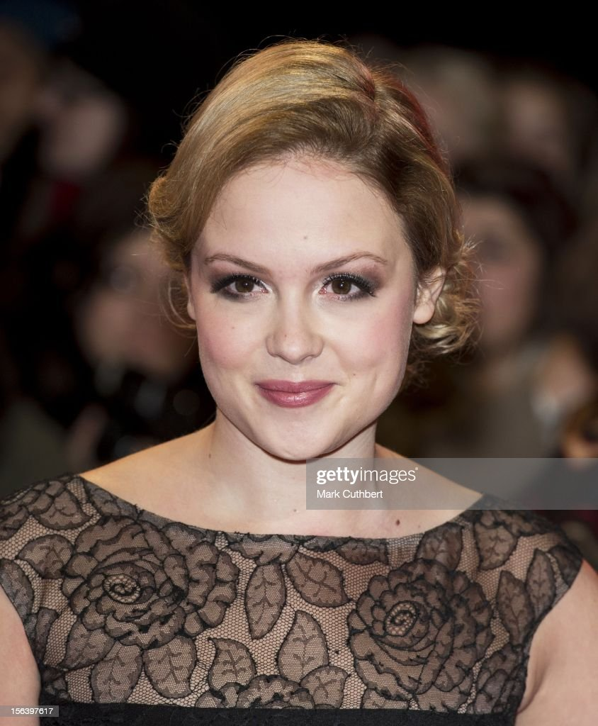 Kimberley Nixon attends the UK Premiere of 'The Twilight Saga: Breaking Dawn - Part 2' at Odeon Leicester Square on November 14, 2012 in London, England.