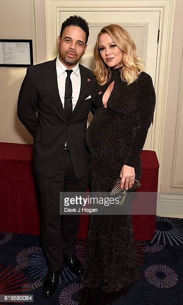 Kimberley Walsh and Justin Scott attend the Daily Mirror Pride of Britain Awards in Partnership with TSB at The Grosvenor House Hotel on October 31...