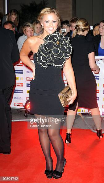 Kimberley Walsh arrives for the Daily Mirror's Pride Of Britain Awards 2009 at the Grosvenor House Hotel on October 5 2009 in London England