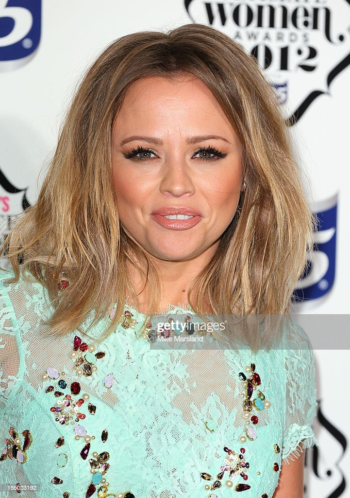Kimberley Walsh attends the Cosmopolitan Ultimate Woman of the Year awards at Victoria & Albert Museum on October 30, 2012 in London, England.