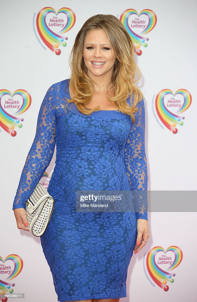 <a gi-track='captionPersonalityLinkClicked' href=/galleries/search?phrase=Kimberley+Walsh&family=editorial&specificpeople=202674 ng-click='$event.stopPropagation()'>Kimberley Walsh</a> attends the Health Lottery tea party at The Savoy Hotel on June 2, 2014 in London, England.
