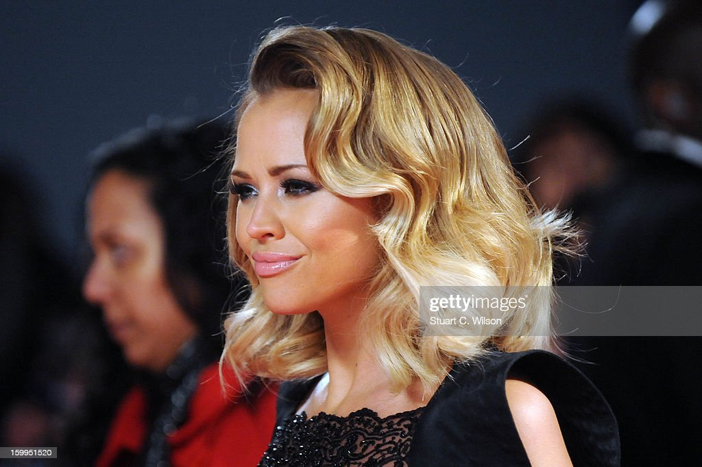 Kimberley Walsh attends the National Television Awards at 02 Arena on January 23, 2013 in London, England.