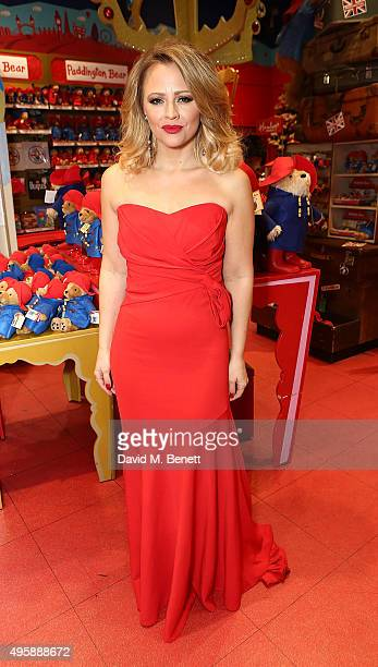 Kimberley Walsh attends the press night after party for 'Elf The Musical' at the Dominion Theatre on November 5 2015 in London England