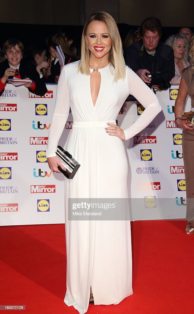 Kimberley Walsh attends the Pride of Britain awards at Grosvenor House, on October 7, 2013 in London, England.