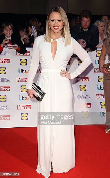 Kimberley Walsh attends the Pride of Britain awards at Grosvenor House on October 7 2013 in London England