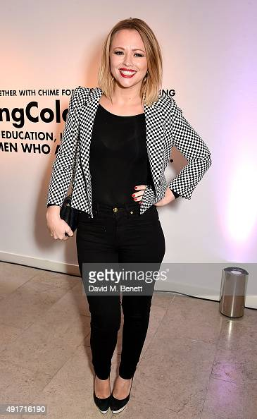 Kimberley Walsh attends the Special K Bring Colour Back launch at The Hospital Club on October 7 2015 in London England