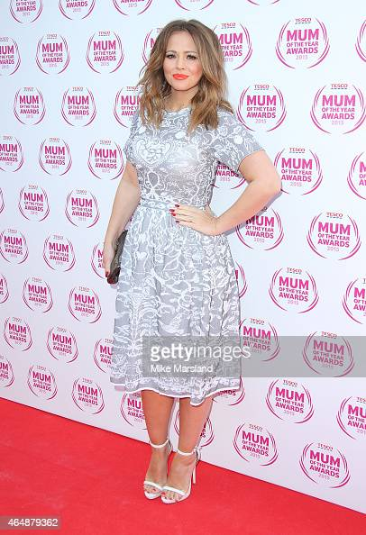 Kimberley Walsh attends the Tesco Mum of the Year Awards at The Savoy Hotel on March 1 2015 in London England
