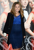 Kimberley Walsh attends the VIP preview evening for 'Katya Pasha' held at the Lyric Theatre on April 7 2014 in London England