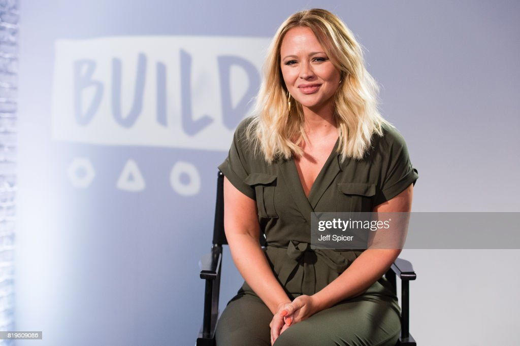 Kimberley Walsh during a BUILD event at AOL London on July 20, 2017 in London, England.