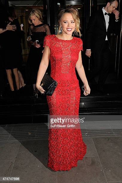 Kimberley Walsh is seen attending Music Industry Trust Awards on November 06 2012 in London United Kingdom
