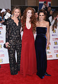 Kimberley Walsh Nicola Roberts and Cheryl FernandezVersini attends the Pride of Britain awards at The Grosvenor House Hotel on September 28 2015 in...