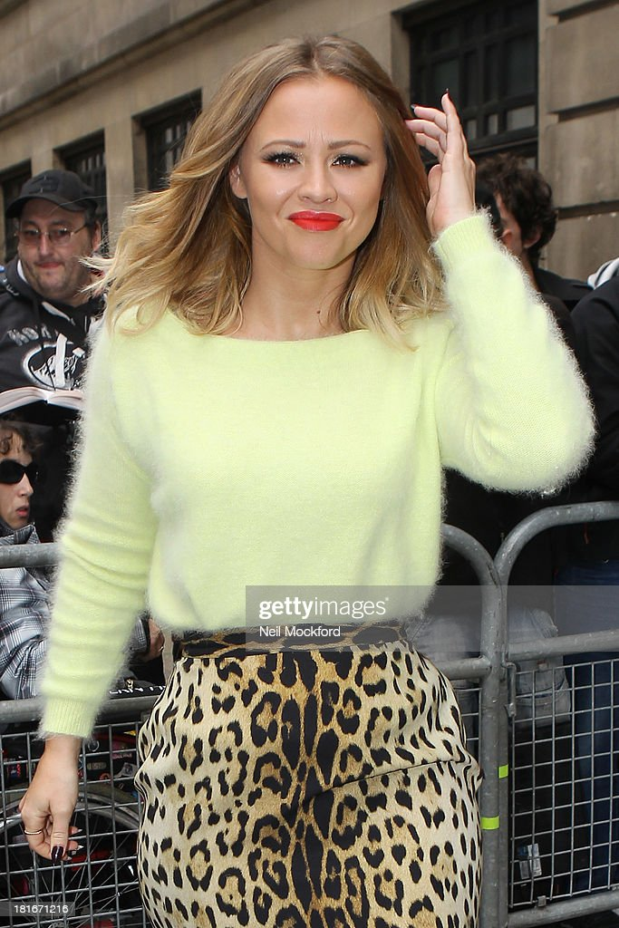 <a gi-track='captionPersonalityLinkClicked' href=/galleries/search?phrase=Kimberley+Walsh&family=editorial&specificpeople=202674 ng-click='$event.stopPropagation()'>Kimberley Walsh</a> seen at BBC Radio 2 on September 23, 2013 in London, England.