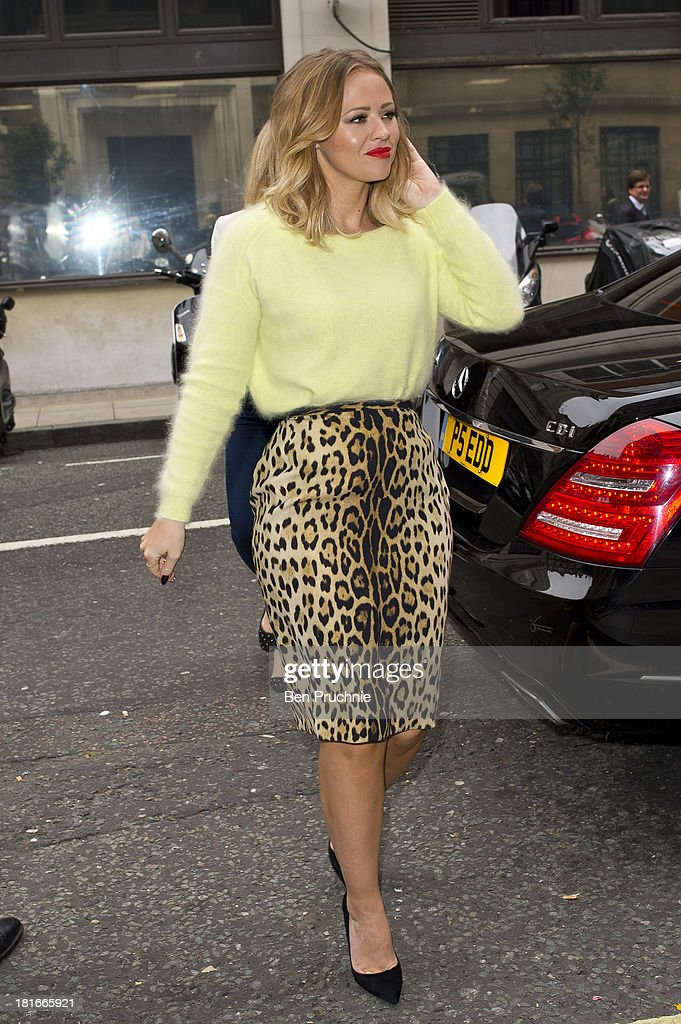 <a gi-track='captionPersonalityLinkClicked' href=/galleries/search?phrase=Kimberley+Walsh&family=editorial&specificpeople=202674 ng-click='$event.stopPropagation()'>Kimberley Walsh</a> sighted at BBC Radio 2 on September 23, 2013 in London, England.