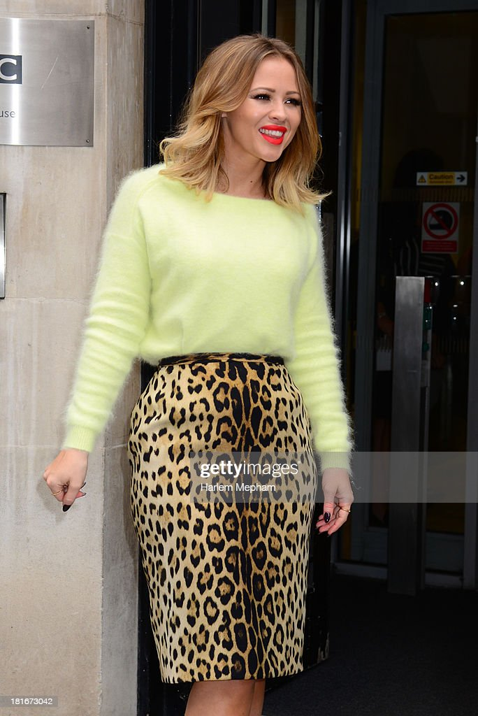 <a gi-track='captionPersonalityLinkClicked' href=/galleries/search?phrase=Kimberley+Walsh&family=editorial&specificpeople=202674 ng-click='$event.stopPropagation()'>Kimberley Walsh</a> sighted at BBC Radio Two on September 23, 2013 in London, England.