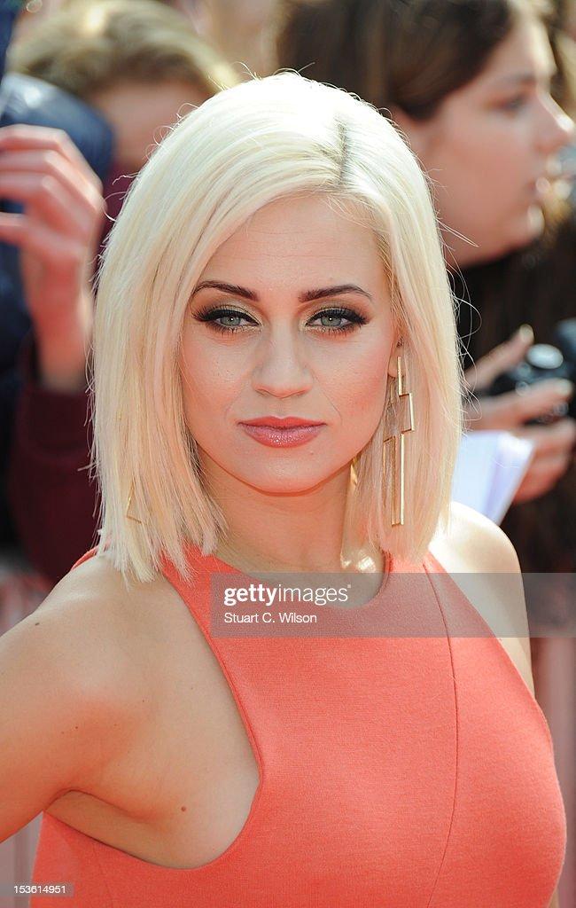 Kimberley Wyatt attends the BBC Radio 1 Teen Awards on October 7, 2012 in London, England.