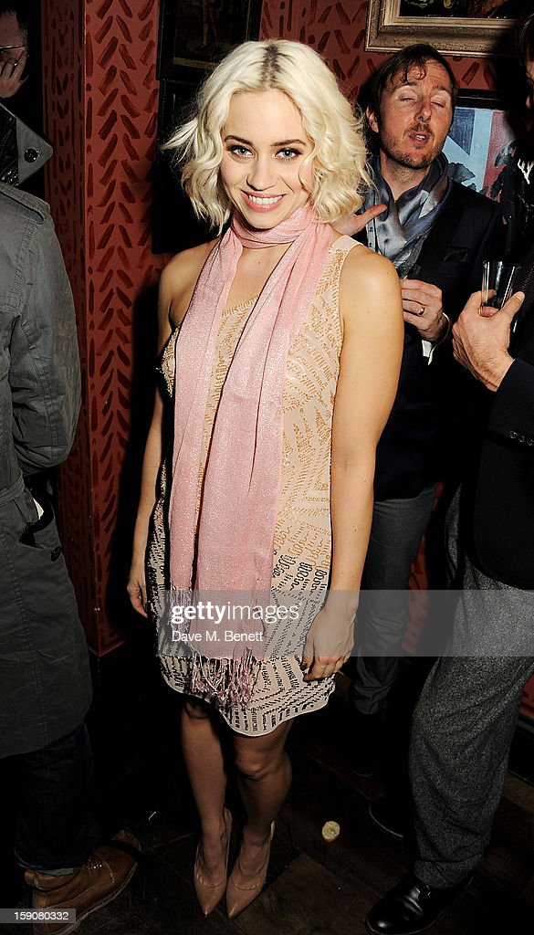 Kimberley Wyatt attends the Esquire and Tommy Hilfiger party celebrating London Collections: MEN AW13, hosted by Esquire editor Alex Bilmes and Tommy Hilfiger, at the Zetter Townhouse on January 7, 2013 in London, England.