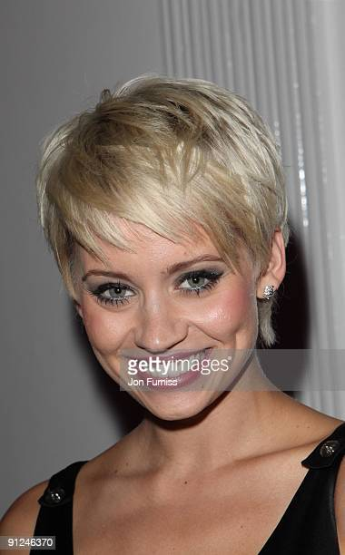 Kimberley Wyatt attends the Hair Magazine Awards on September 29 2009 in London England