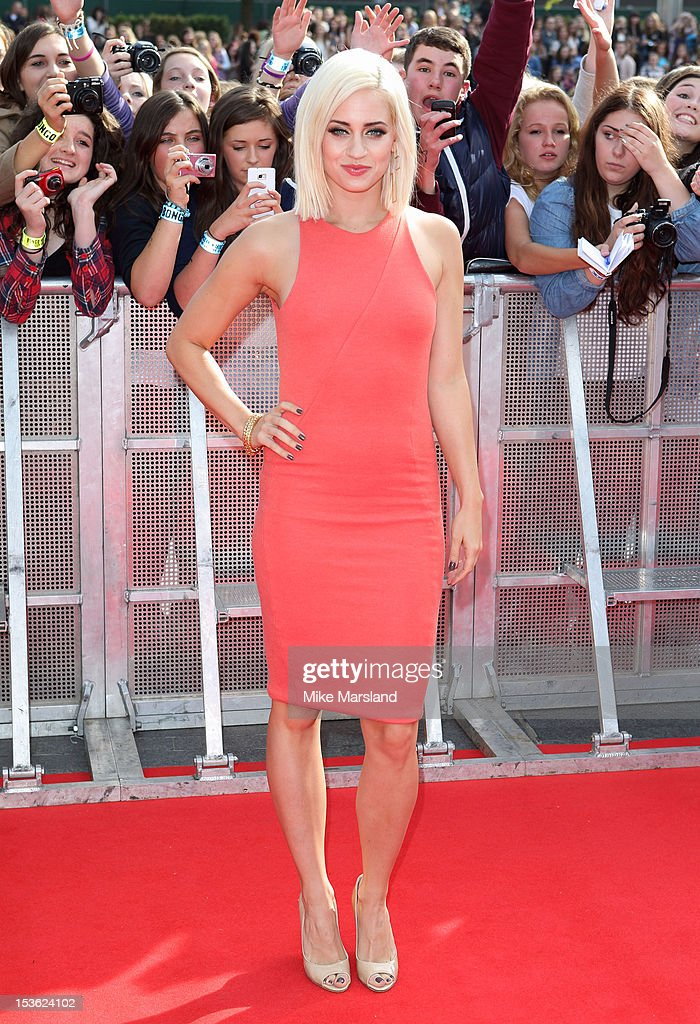 Kimberley Wyatt attends the Radio One Teen Awards at Wembley Arena on October 7, 2012 in London, England.