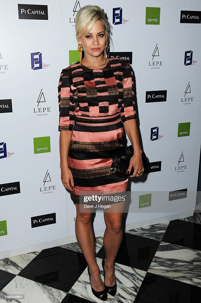 Kimberley Wyatt attends the UK Creatives Drinks Reception celebrating media, arts, sport and creativity in the UK at Dover Arts Club on July 30, 2012 in London, England.