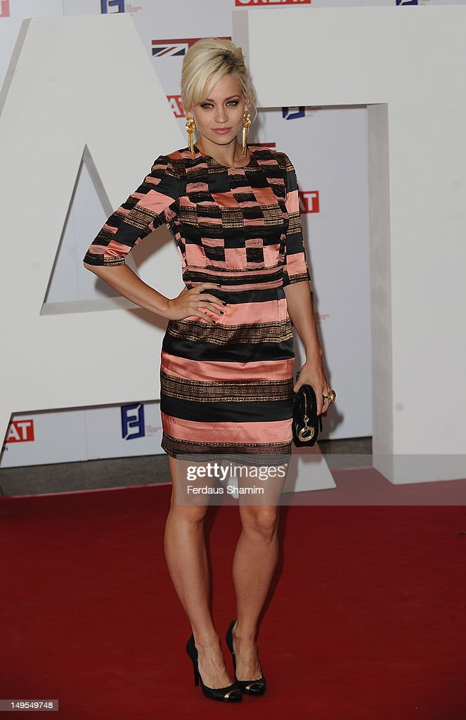 Kimberley Wyatt attends the UK's Creative Industries Reception at Royal Academy of Arts on July 30, 2012 in London, England.