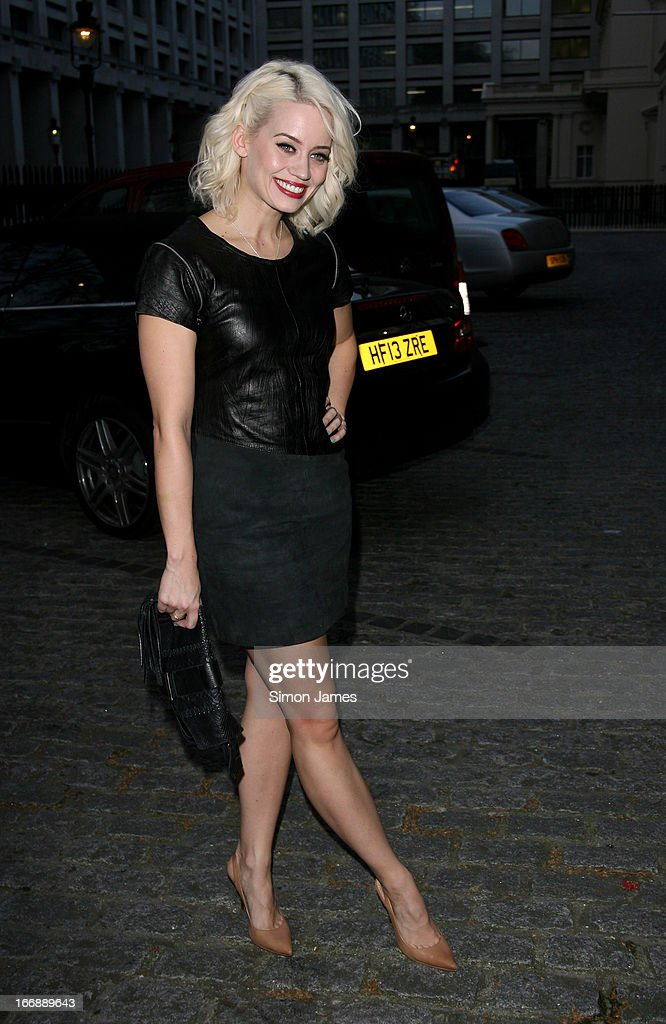 Kimberley Wyatt sighting on April 17, 2013 in London, England.
