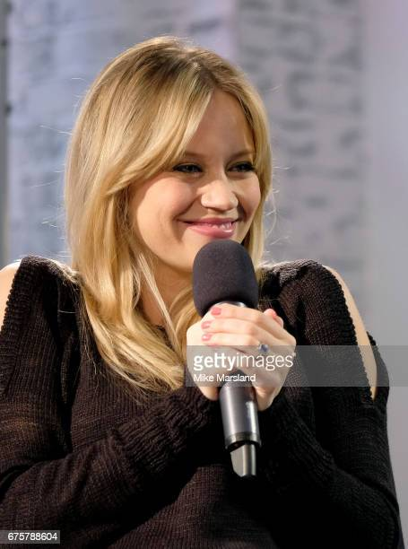 Kimberley Wyatt speaks at the Build LDN event at AOL London on May 2 2017 in London England