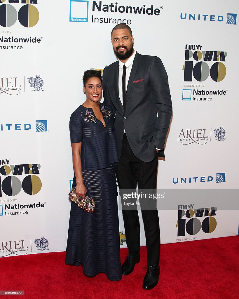 Kimberly and <a gi-track='captionPersonalityLinkClicked' href=/galleries/search?phrase=Tyson+Chandler&family=editorial&specificpeople=202061 ng-click='$event.stopPropagation()'>Tyson Chandler</a> attend the 2013 EBONY Power 100 List Gala at Frederick P. Rose Hall, Jazz at Lincoln Center on November 4, 2013 in New York City.