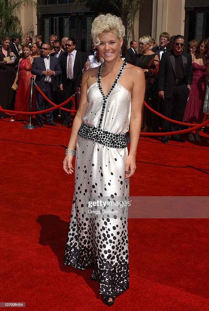 Kimberly Caldwell during 58th Annual Primetime Emmy Awards Arrivals at Shrine Auditorium in Los Angeles California United States