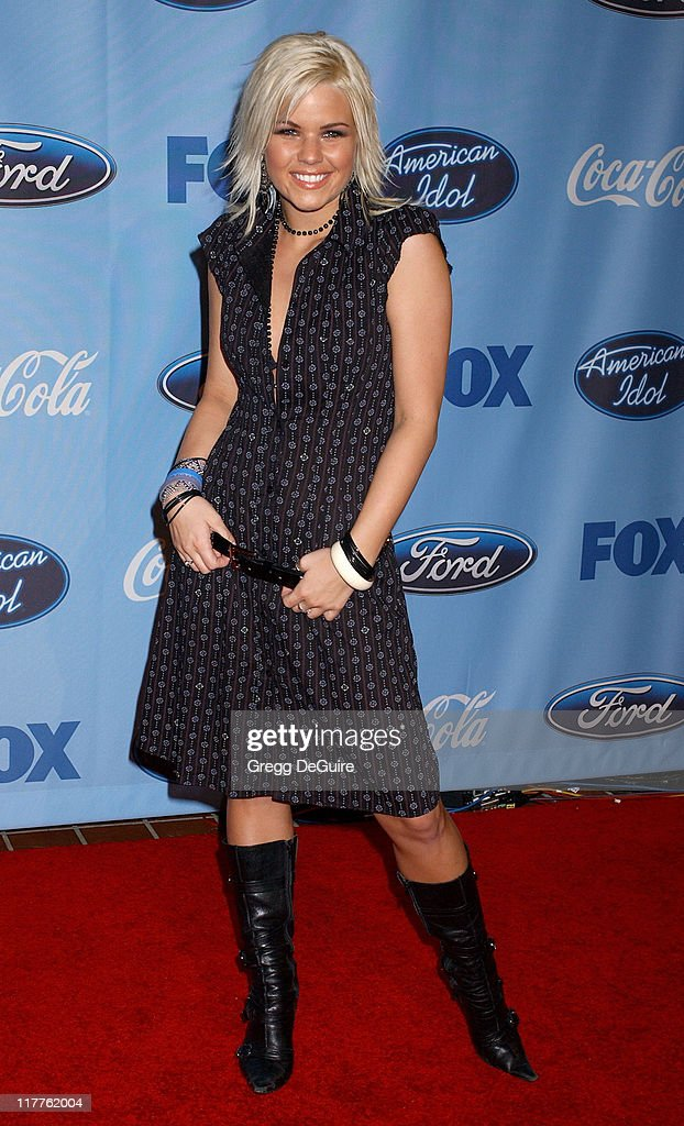 Kimberly Caldwell during 'American Idol' Season 4 - Top 12 Finalists Party at Astra West in West Hollywood, California, United States.