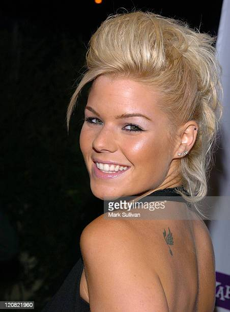 Kimberly Caldwell during Eric Podwall and Shane West Birthday Party June 18 2005 in Los Angeles California United States