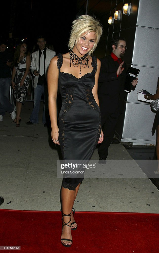 Kimberly Caldwell during Harlottique 2005 Hosted by Kimberly Caldwell at Platinum Live in Studio City, California, United States.