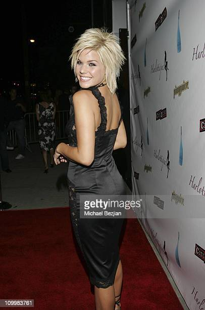 Kimberly Caldwell during Harlottique Opening July 22 2005 at Harlottique in Studio City California United States