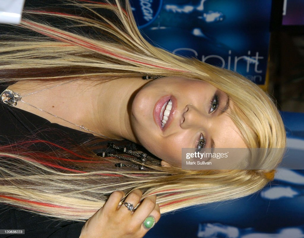 Kimberly Caldwell during Kimberly Caldwell Launches 'American Idol' Fragrance at JC Penney in Downey California United States