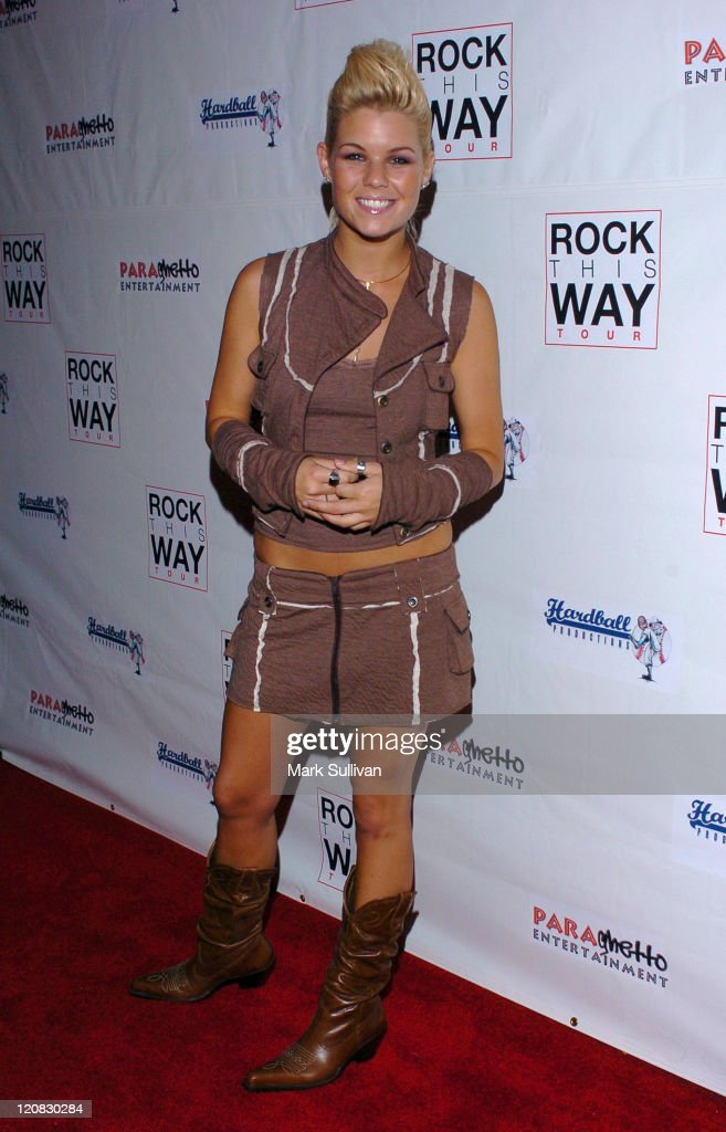 Kimberly Caldwell during Rock This Way Kick Off Bash Arrivals at Avalon in Hollywood California United States