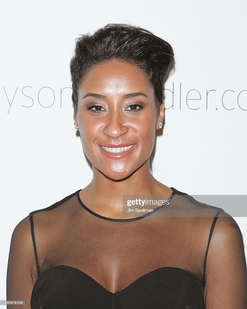 Kimberly Chandler attends 'A Year In A New York Minute' Photo Exhibition at Canoe Studios on September 26, 2012 in New York City.
