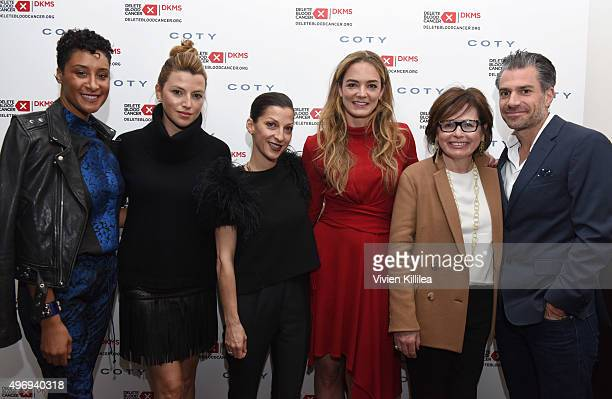 Kimberly Chandler Sara Riff Nevena Borissova Delete Blood Cancer Cofounder Katharina Harf Susie Fishman and Christian Carino attend the Delete Blood...
