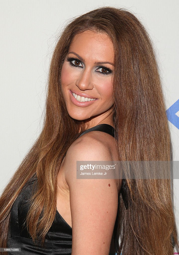 Kimberly Cole attends the 40th Anniversary American Music Awards Electronic Dance Music Celebration held at the Club Nokia on November 16, 2012 in Los Angeles, California.
