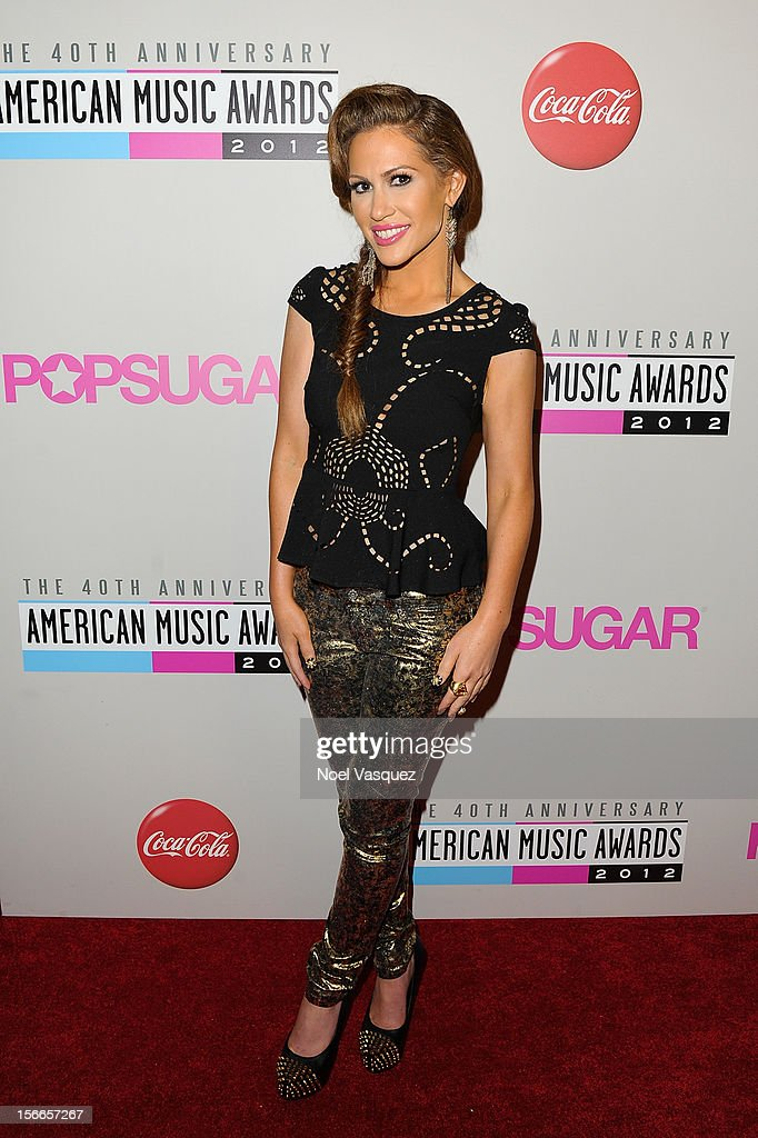 Kimberly Cole attends the 40th Anniversary American Music Awards Charity Bowl Pre-Party at Lucky Strike Lanes at L.A. Live on November 17, 2012 in Los Angeles, California.