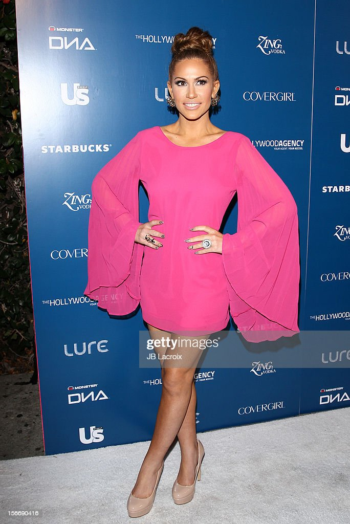 Kimberly Cole attends the US Weekly Magazine's Music Party With Performance By The Wanted at Lure on November 18, 2012 in Hollywood, California.