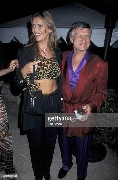 Kimberly Conrad Hefner and Hugh Hefner