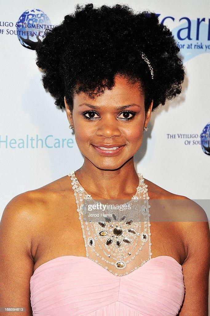 Kimberly Elise arrives at 'Shall We Dance' Annual Gala for the Coalition for At-Risk Youth at The Beverly Hilton Hotel on May 11, 2013 in Beverly Hills, California.