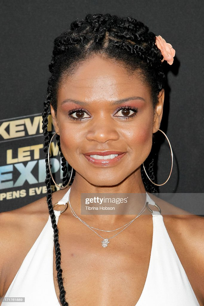Kimberly Elise attends the 'Kevin Hart: Let Me Explain' Los Angeles premiere at Regal Cinemas L.A. Live on June 27, 2013 in Los Angeles, California.