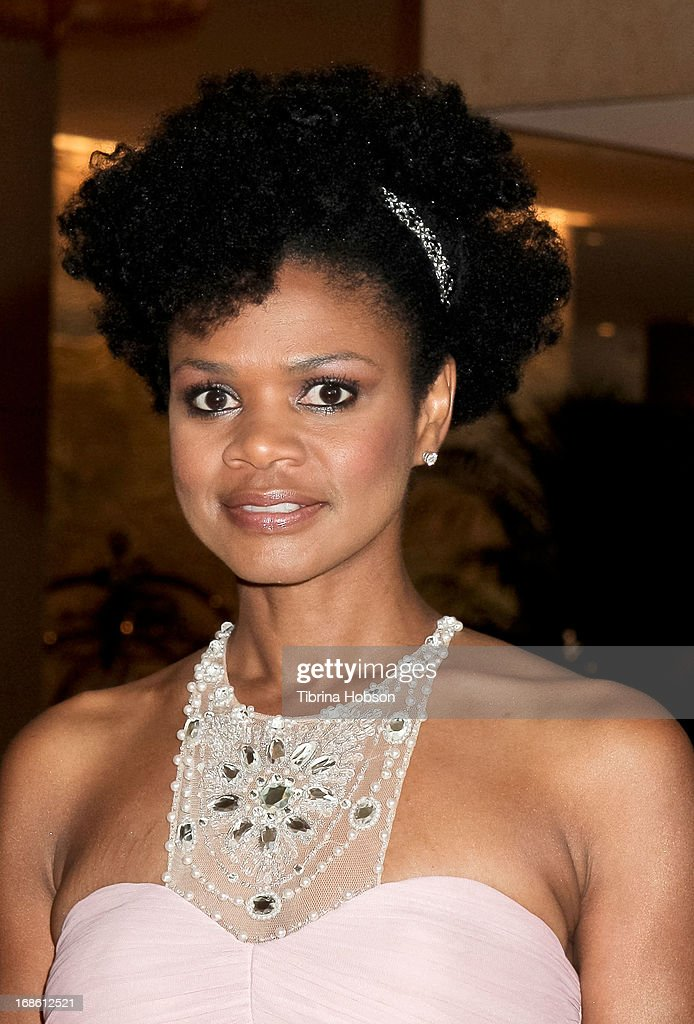 Kimberly Elise attends the 'Shall We Dance' annual gala for the coalition for at-risk youth at The Beverly Hilton Hotel on May 11, 2013 in Beverly Hills, California.